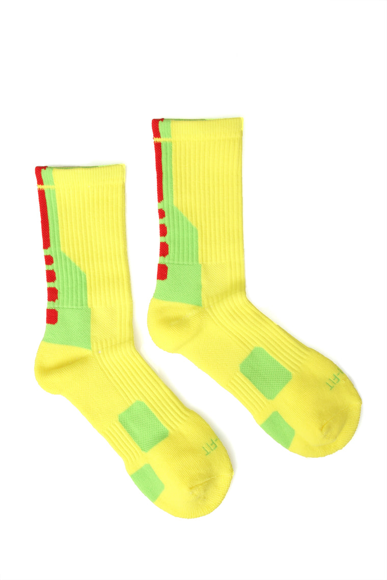 Gym Time Socks - Yellow