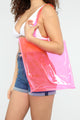 See Right Through You Tote - Pink