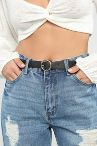 Bee Careful With Me Belt - Black