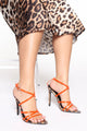 Point You In The Right Direction Heel - Leopard