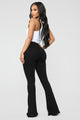 Don't Break My Heart Flare Jeans - Black
