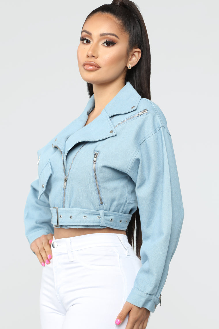 Always Right Denim Jacket - Light Wash