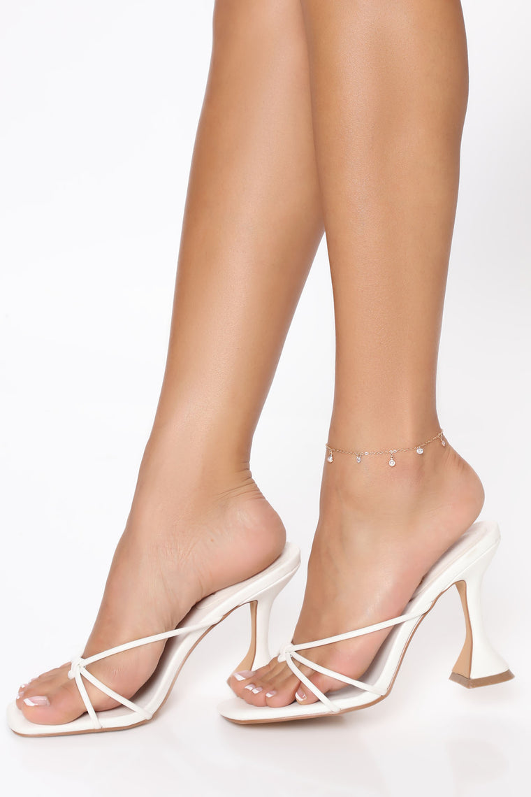 Pretty In Gold Anklet - Gold