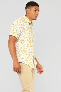 Zorpas Short Sleeve Woven Top - White/Combo