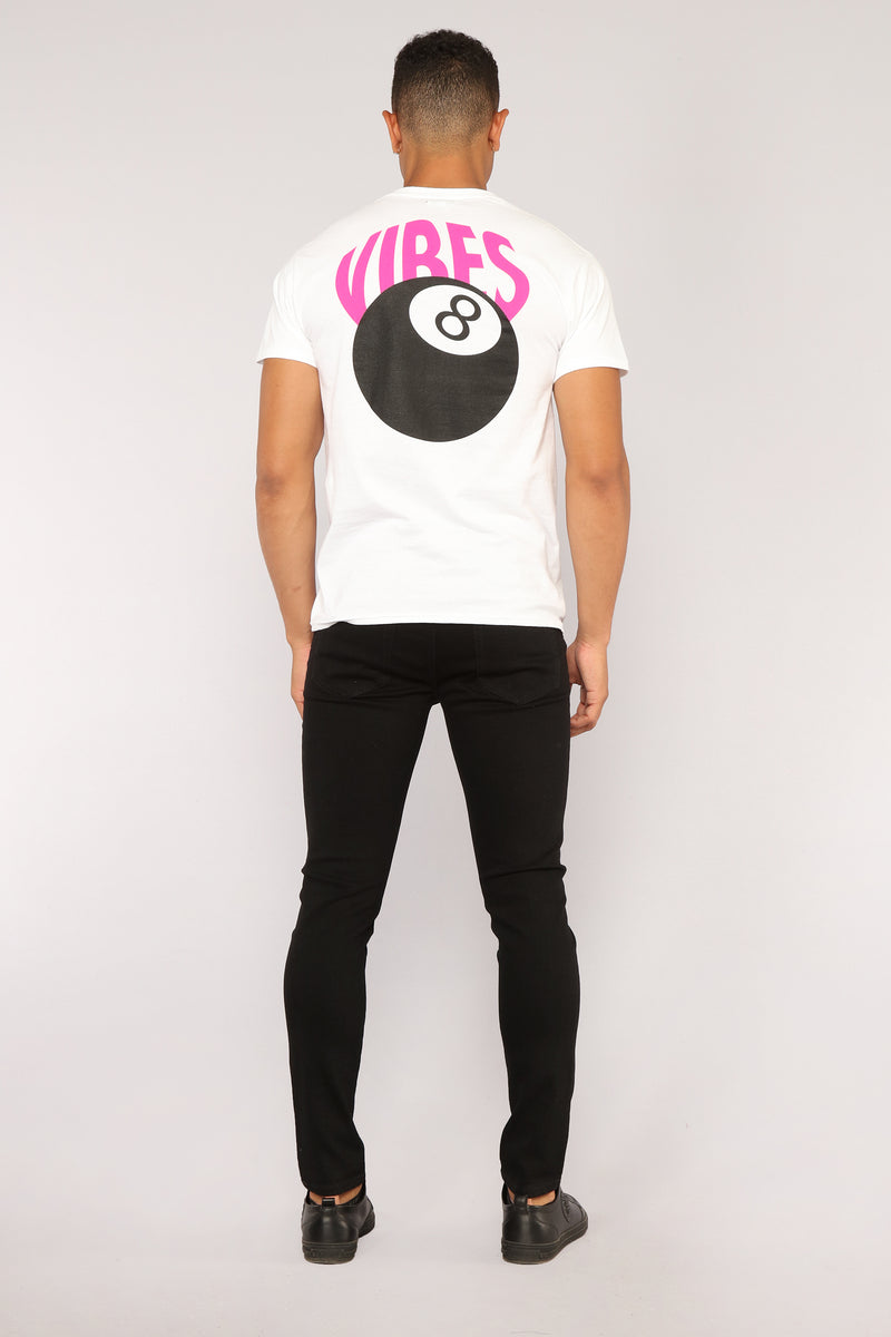 Vibe Graphic Tee - White