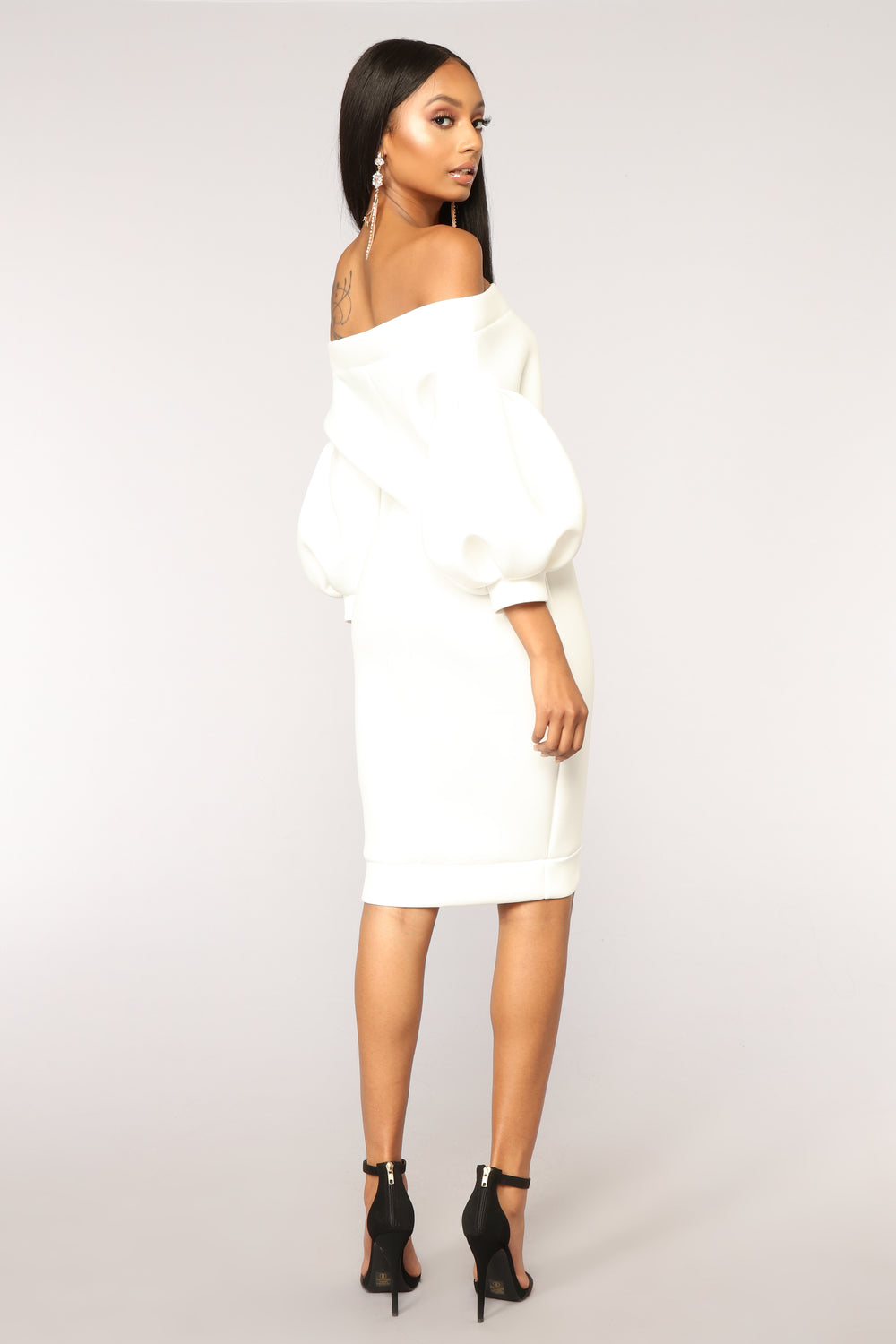 Unstoppable Dress - Ivory