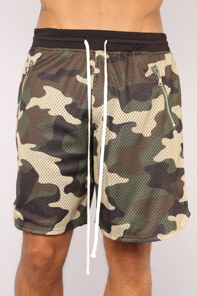 Jones Active Shorts - Camouflage