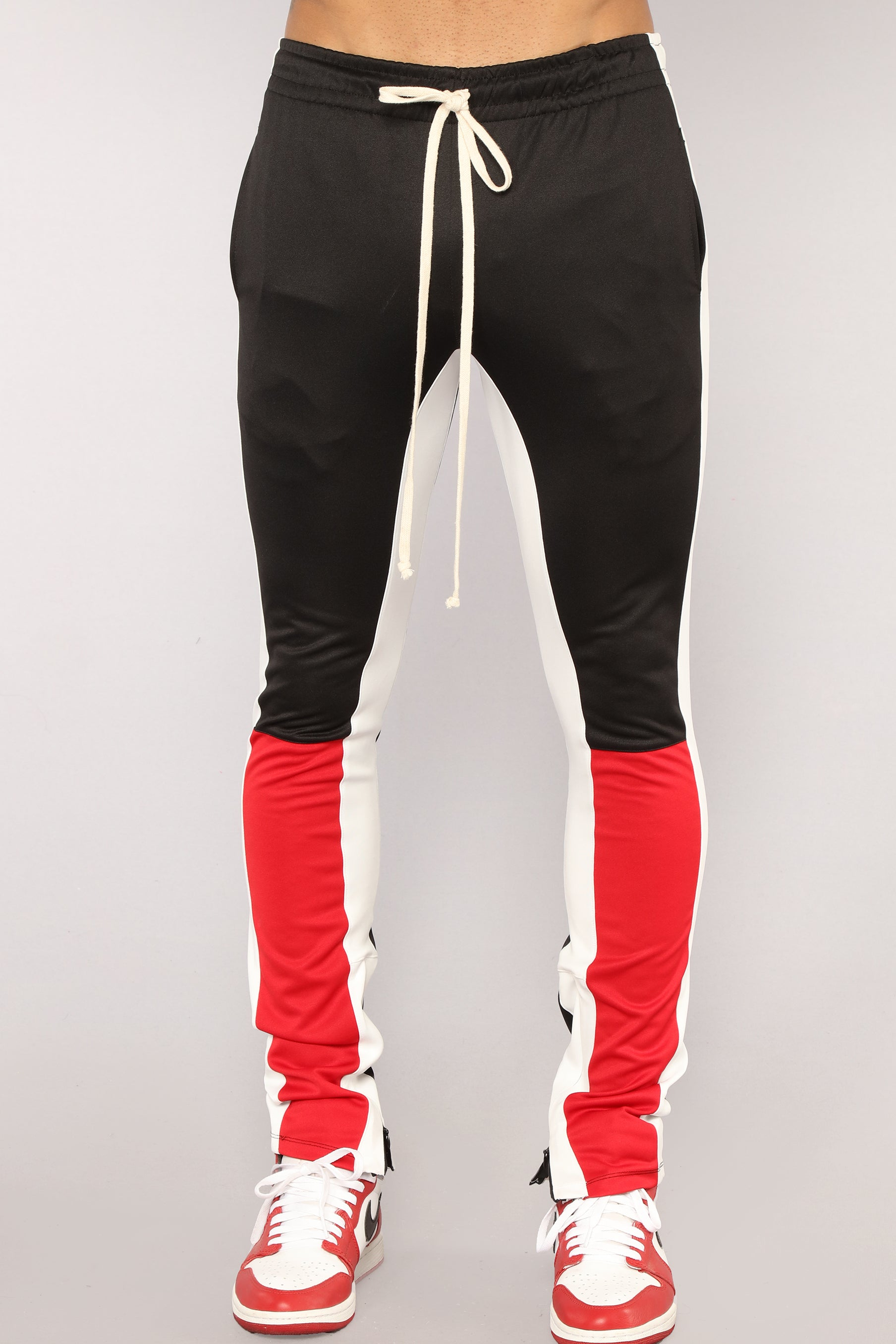 Union Track Pants Black Combo