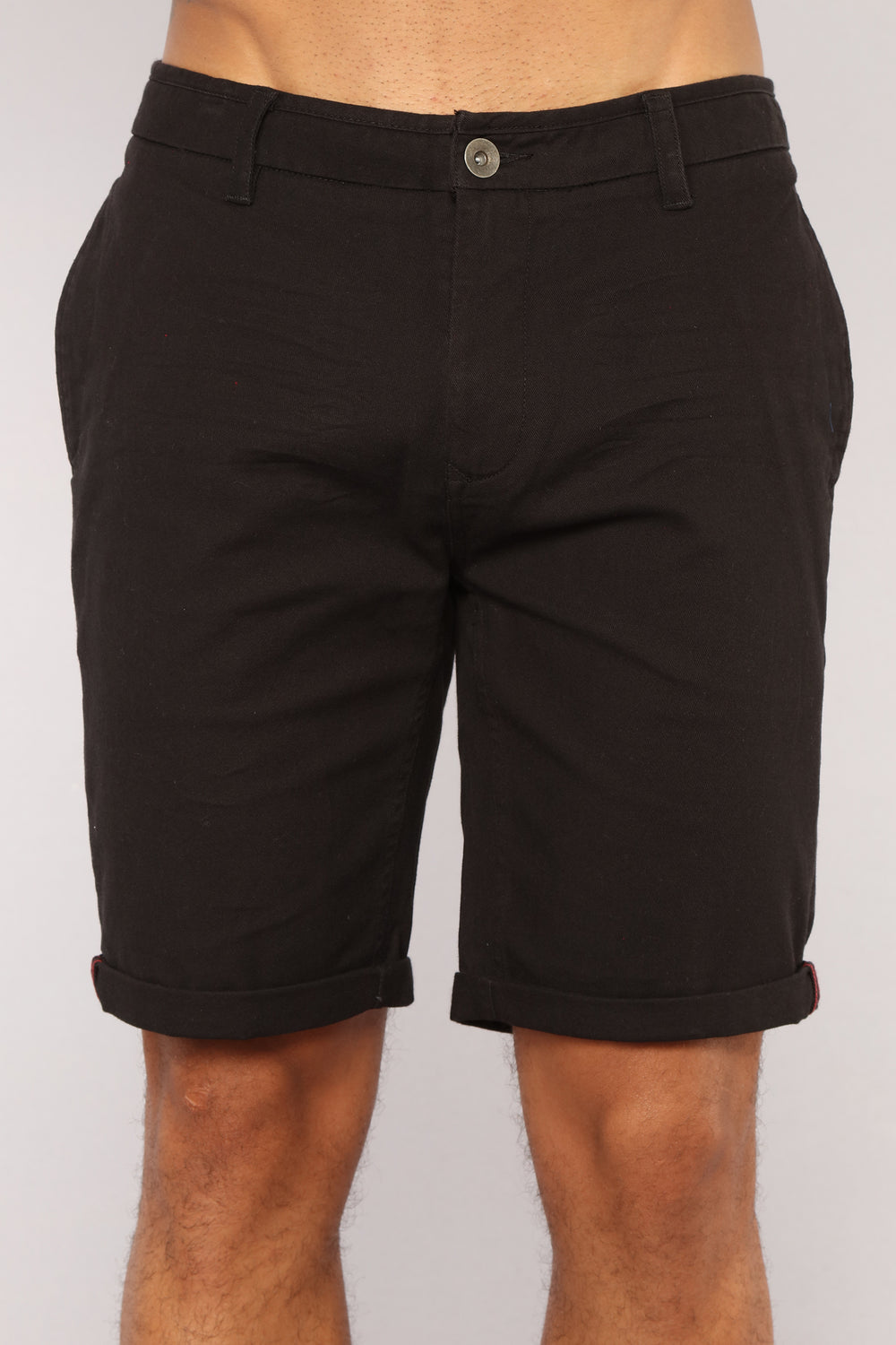 Glover Chino Shorts - Black