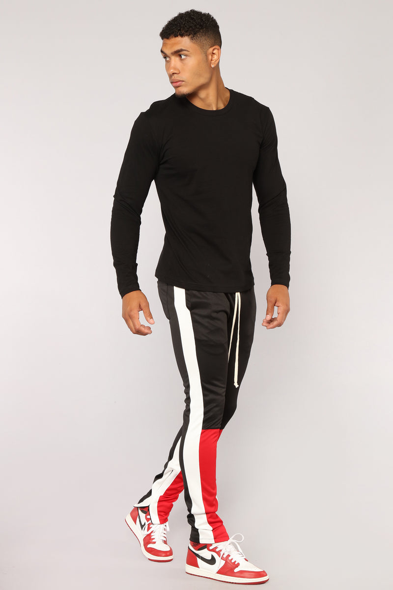 Union Track Pants - Black/Combo
