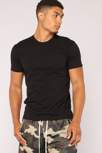 Essential Pocket Tee - Black