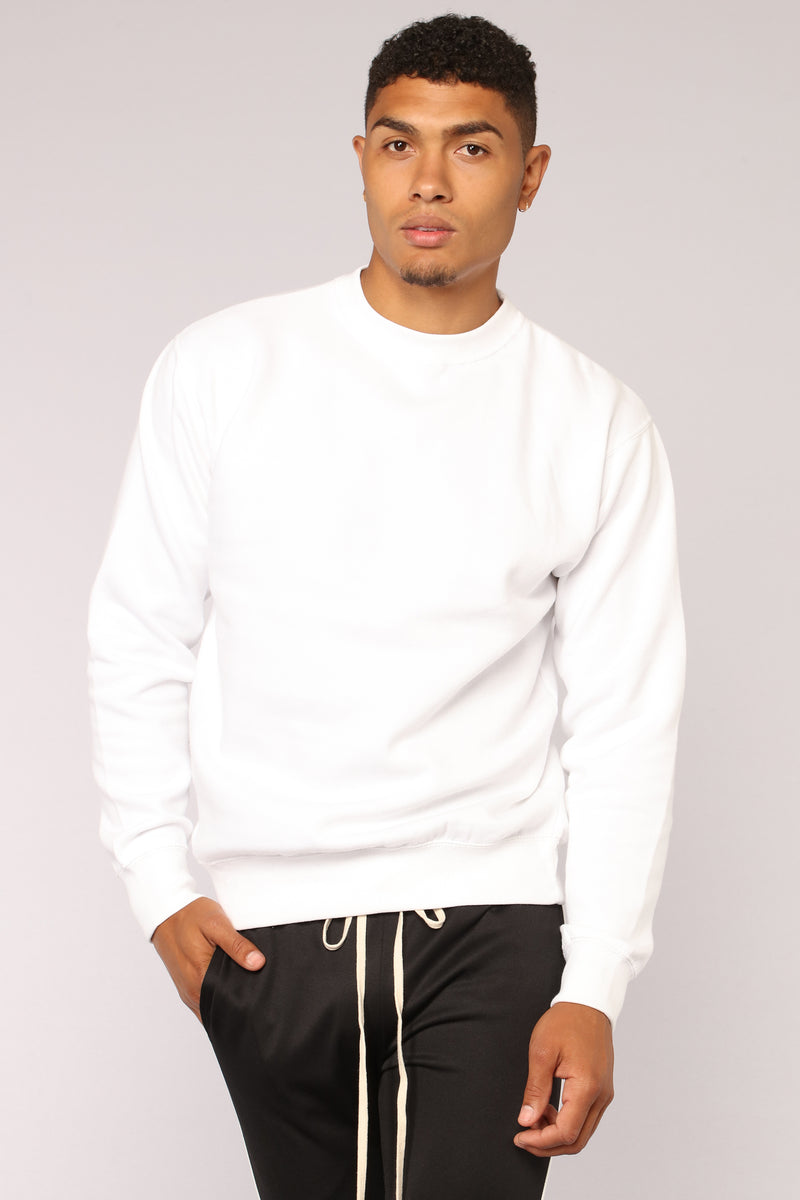 Kurt Crew Sweatshirt - White
