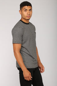 Diaz Short Sleeve Pocket Tee - Black