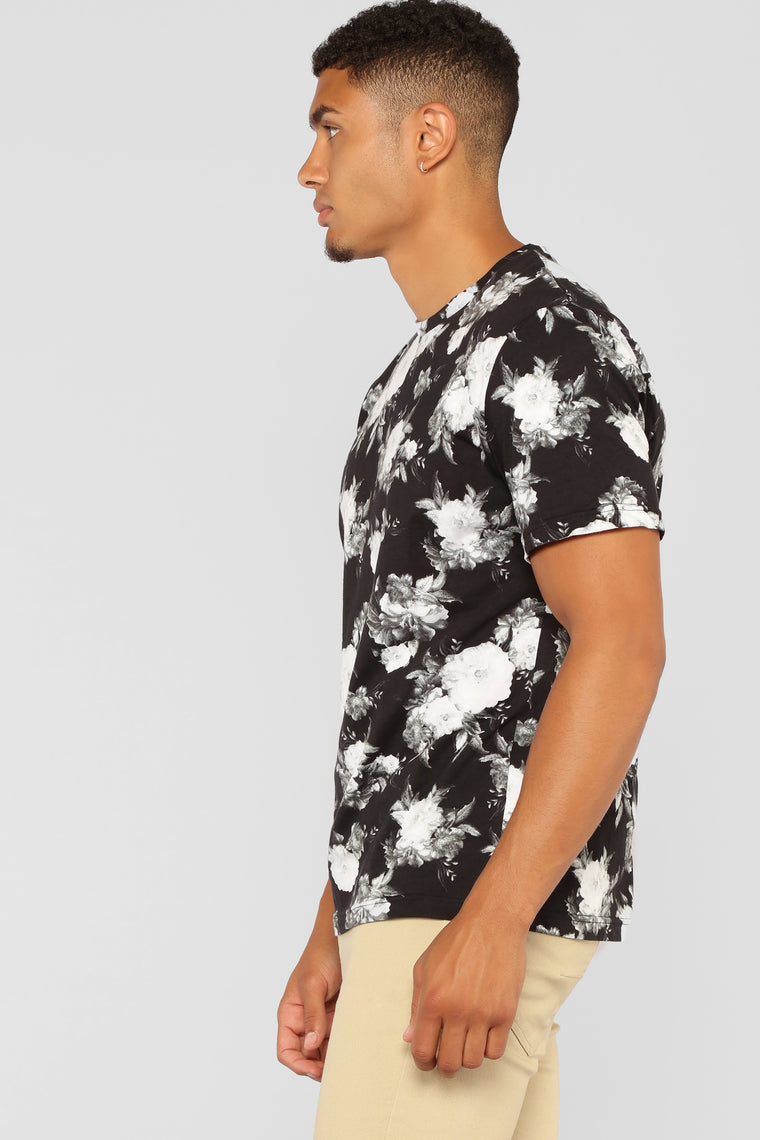 Tinie Short Sleeve Tee - Black/White