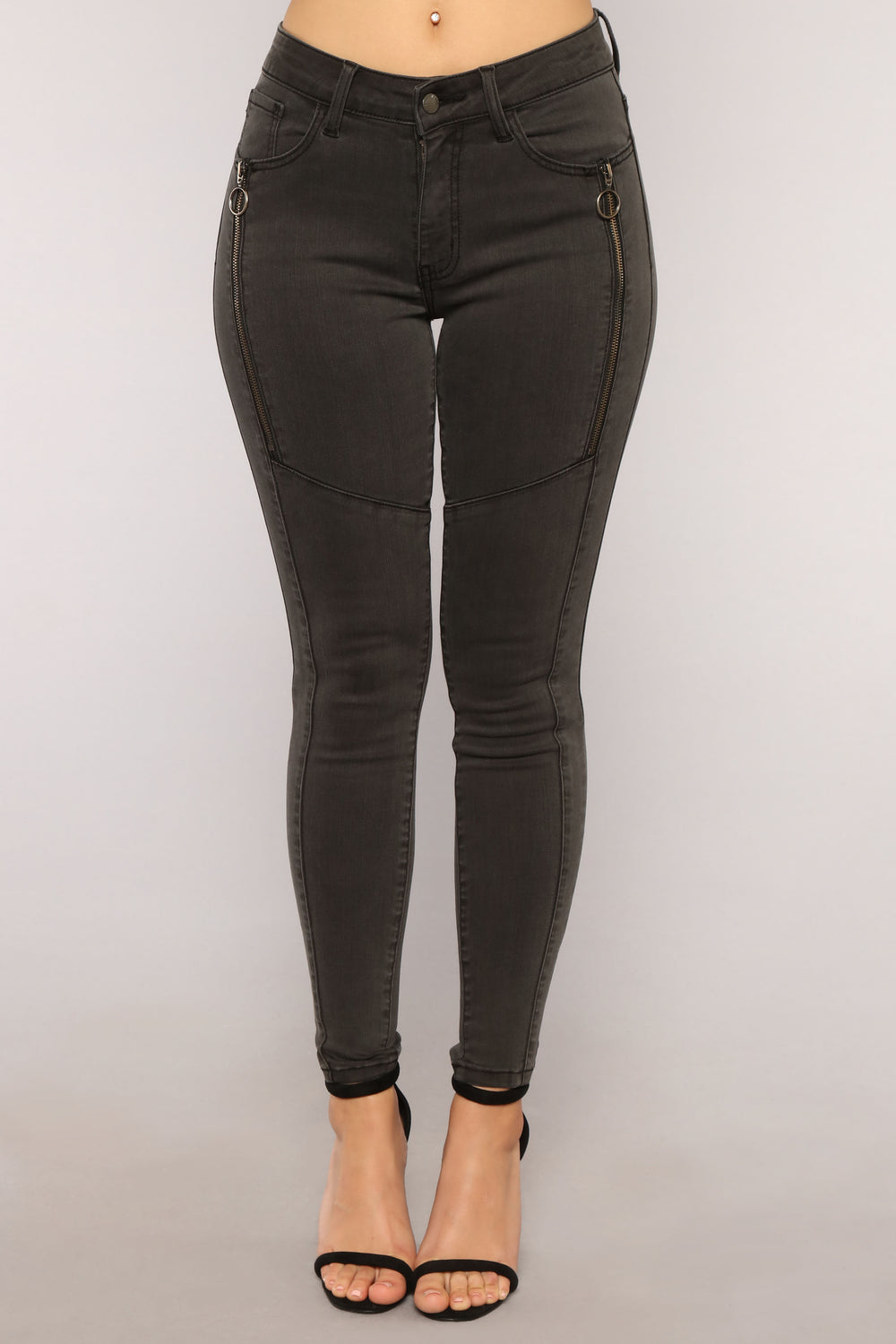 From The Night Skinny Jeans - Black
