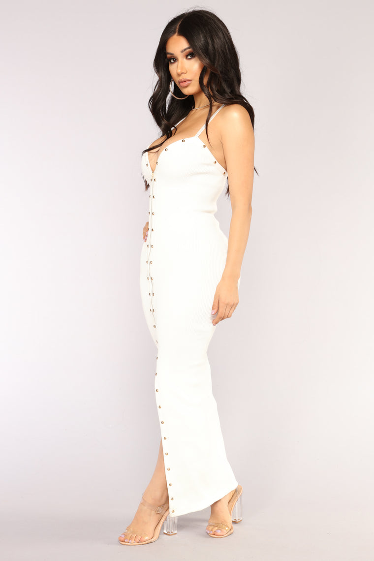Limitless Babe Maxi Dress - White