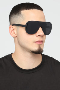 Midnight Swag Sunglasses - Black Angle 4