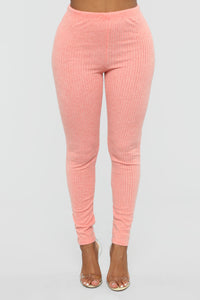 Feelin' Bubbly Pant Set - Coral Angle 3