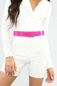 Loud Moves Belt - Neon Pink