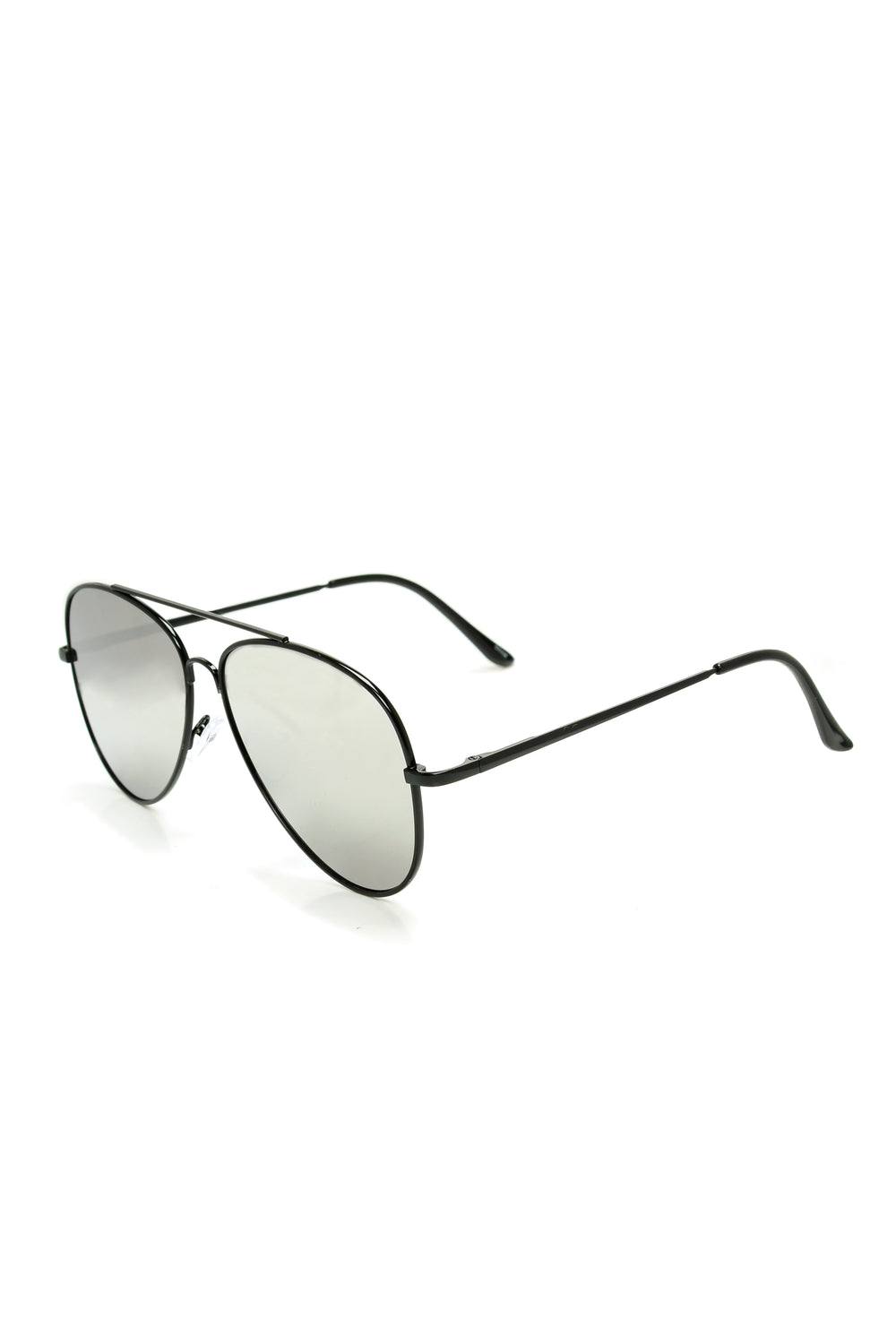 Foxtail Sunglasses - Black/Silver