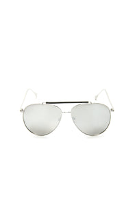 Roger That Sunglasses - Silver/Mirror