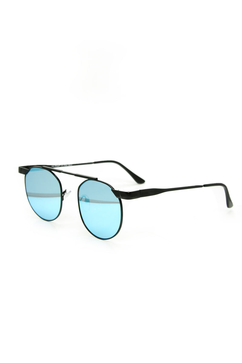 Exclusively Mine Sunglasses - Black/Blue