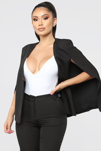 Too Fly For The Office Suit Set - Black