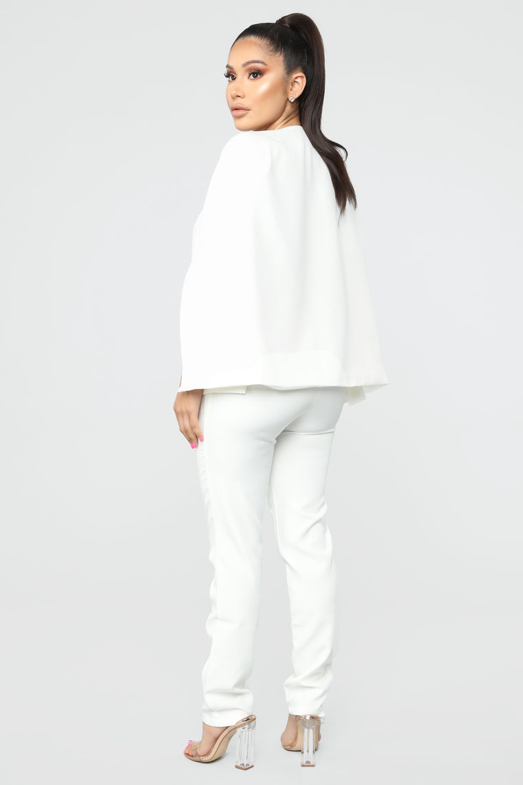 Too Fly For The Office Suit Set - Off White