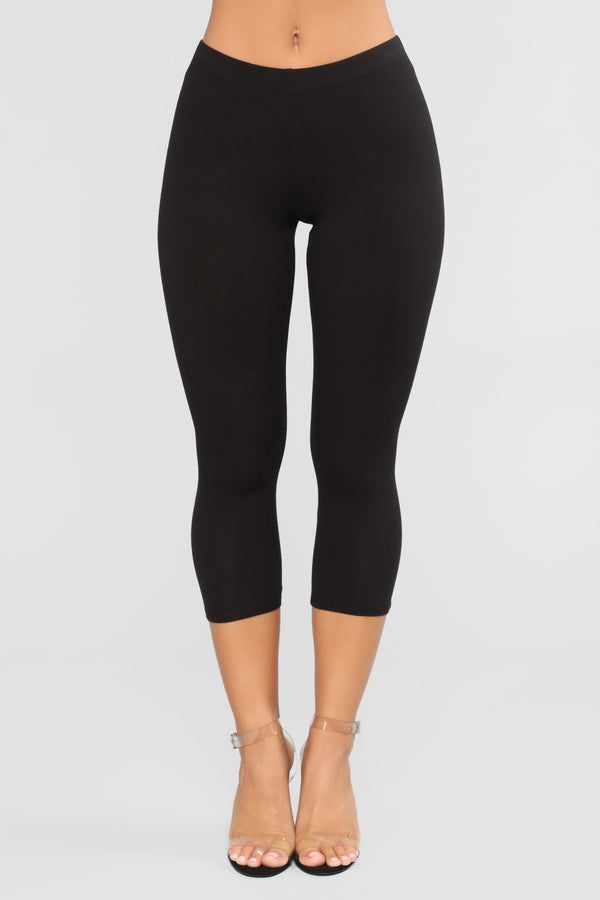22c1afce4 Ready For Whatever Cropped Leggings - Black