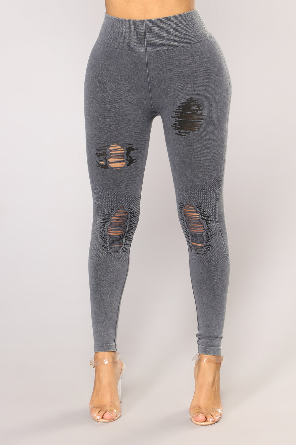 Mariah Seamless Leggings - Navy