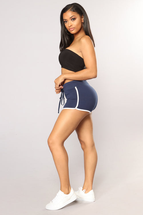 Keep It Simple Shorts - Navy
