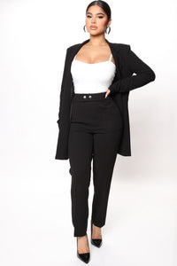 Go Best Blazer That's My Best Blazer - Black Angle 2