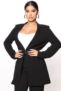 Go Best Blazer That's My Best Blazer - Black Angle 1