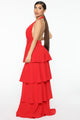 On Occasion Maxi Dress - Red