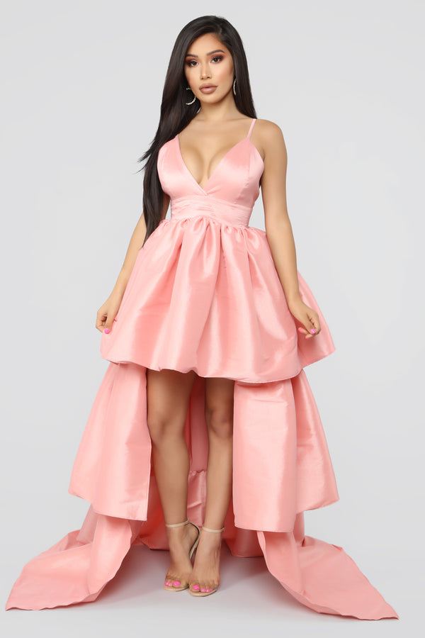2297bfec0a13 V.I.Please High Low Gown - Light Pink