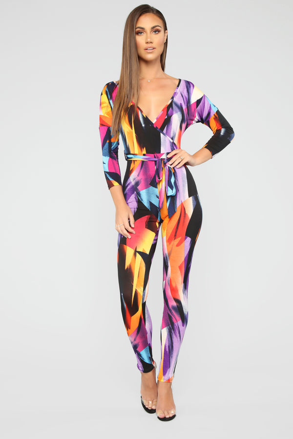 12b2a8e6728b Amused By The Arts Jumpsuit - Multi