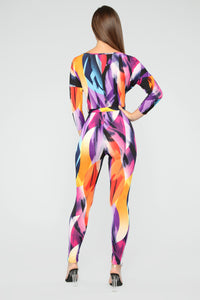 Amused By The Arts Jumpsuit - Multi
