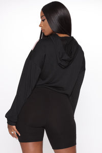 Jazlyn Short Set - Black/combo