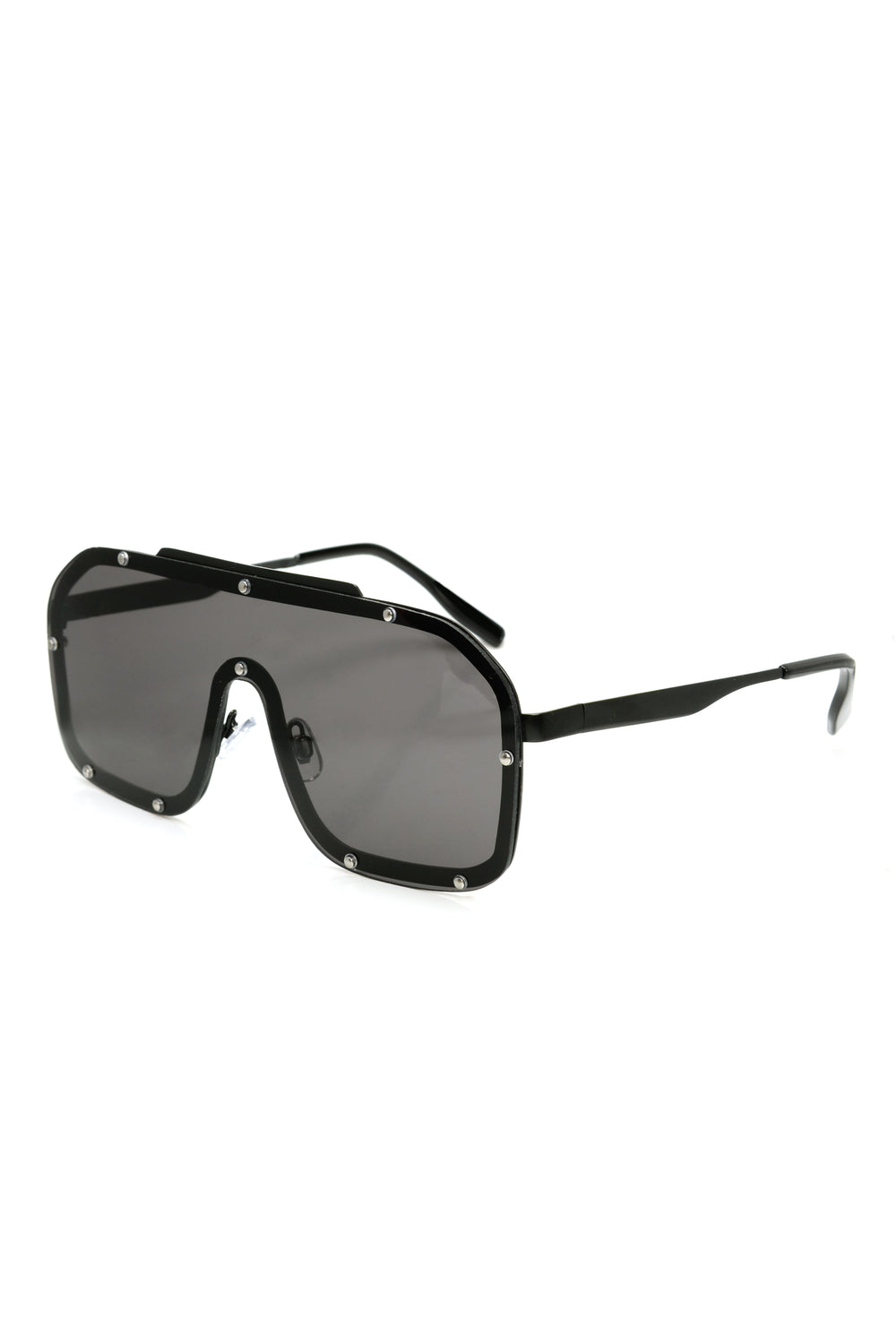 Dezzi Shield Sunglasses - Black