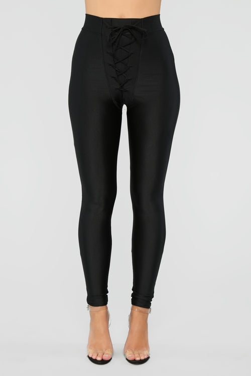 Tying Up Loose Ends Leggings - Black 31f03945312