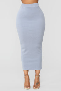 Teenage Dream Skirt Set - Light Blue