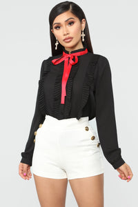 Getting It Done Button Down - Black Angle 1