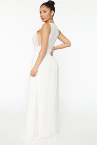 Free Minds Maxi Dress - White Angle 3