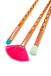 Beauty Creations Copperella Unicorn 6 Pc Brush Set