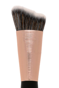 Bebella Cosmetics Angled Buffing Brush - Rose Gold