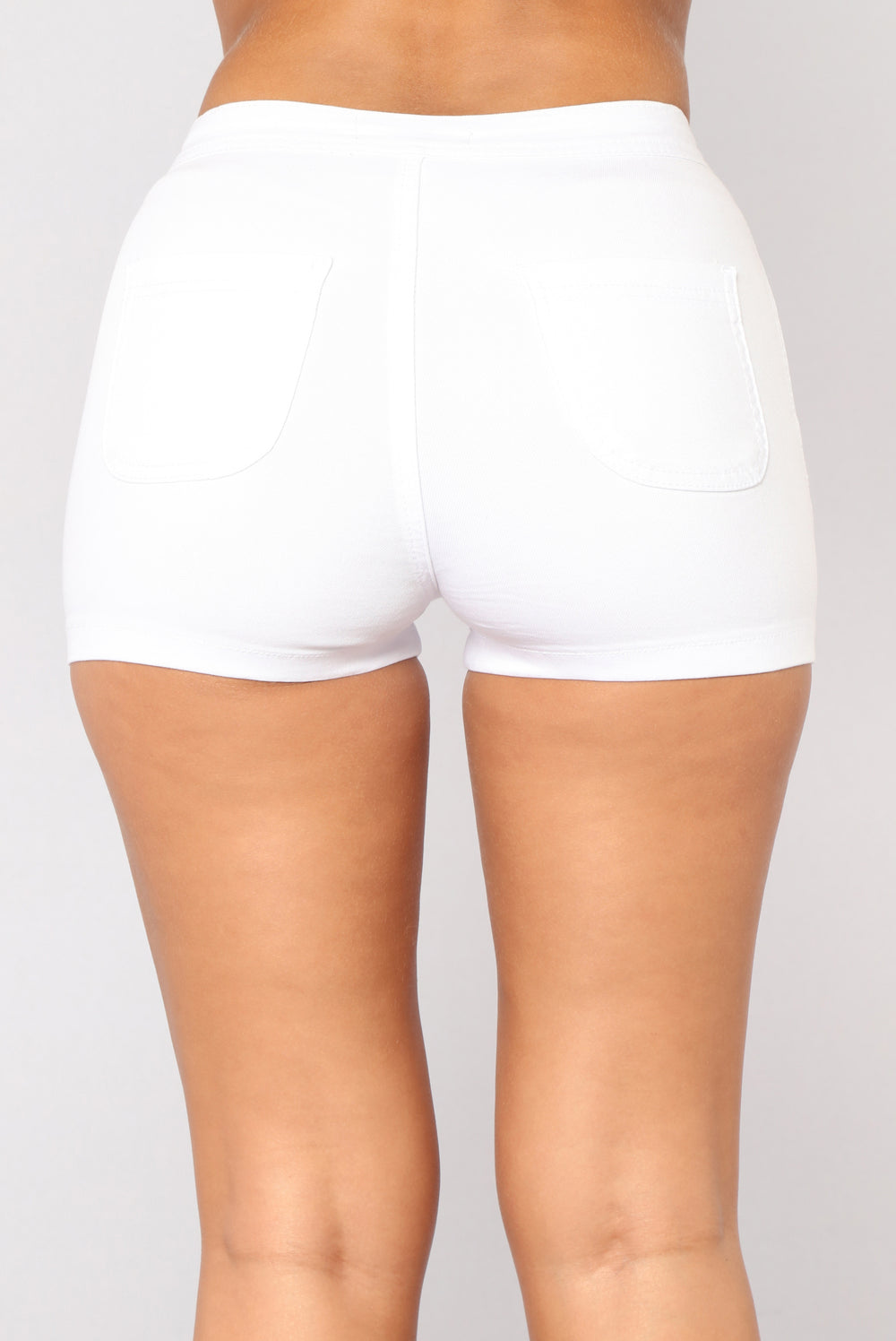 Daily Essential Shorts - White