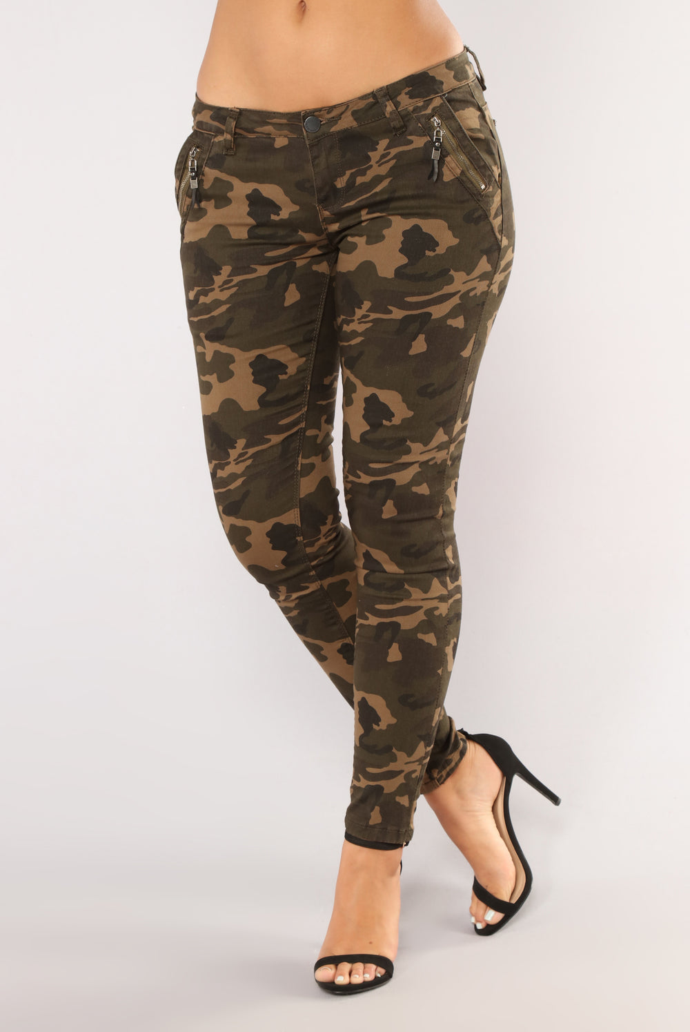 Come At Me Camo Pants - Olive