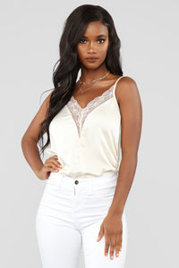Delicate Touch Lace Cami - Ivory