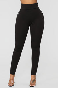 Oh So Kate Pants - Black Angle 3
