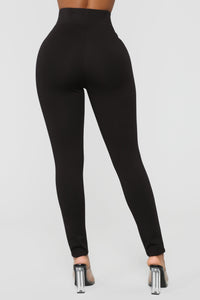 Oh So Kate Pants - Black Angle 6
